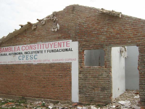 Destrucción del CPESC