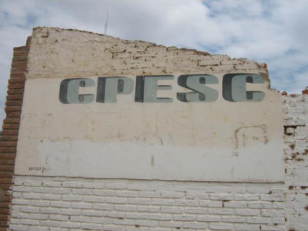 Saqueo y destrucción del CPESC