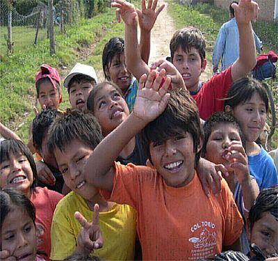 Niños bolivianos