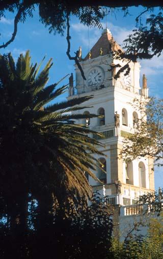 campanario iglesia sucre