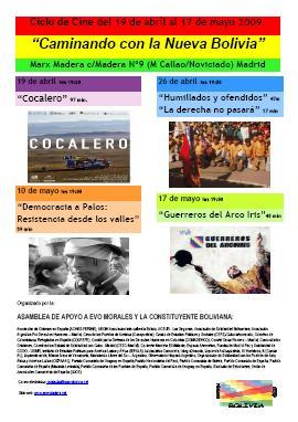 Ciclo cine documentales sobre Bolivia
