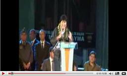 Evo Morales en La Cubierta de Leganés