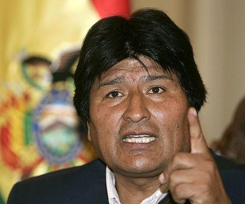 Evo Morales en huelga de hambre