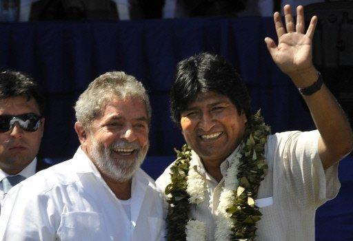 Evo y Lula