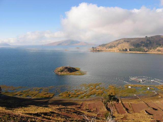 lago titicaca tiquina
