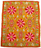 manta tapiz flores