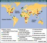 Mapa de enfermedades infecciosas