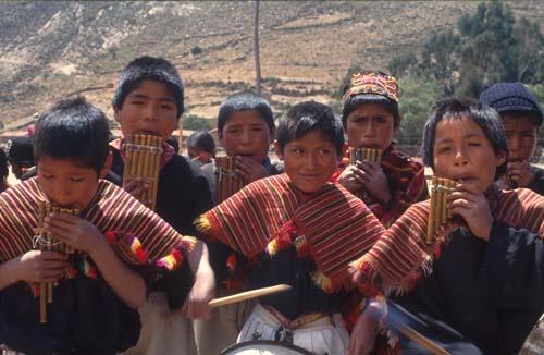 niños quechua
